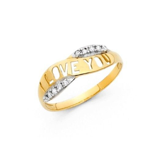 14k Yellow Gold Ring New!