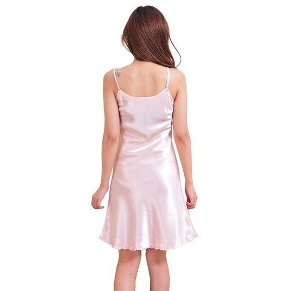 Silk Robe Dress Babydoll Nightdress