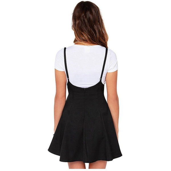 SKIRTS - Suspender Skater Skirt