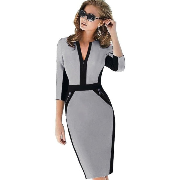 Women's Dress Collection - Elegant Stretch Dress
