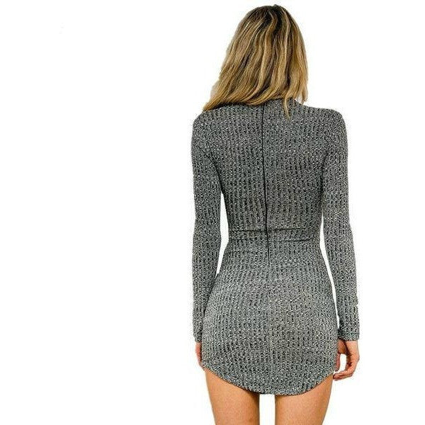 Women's Dress Collection - Katty Long Sleeve Dress
