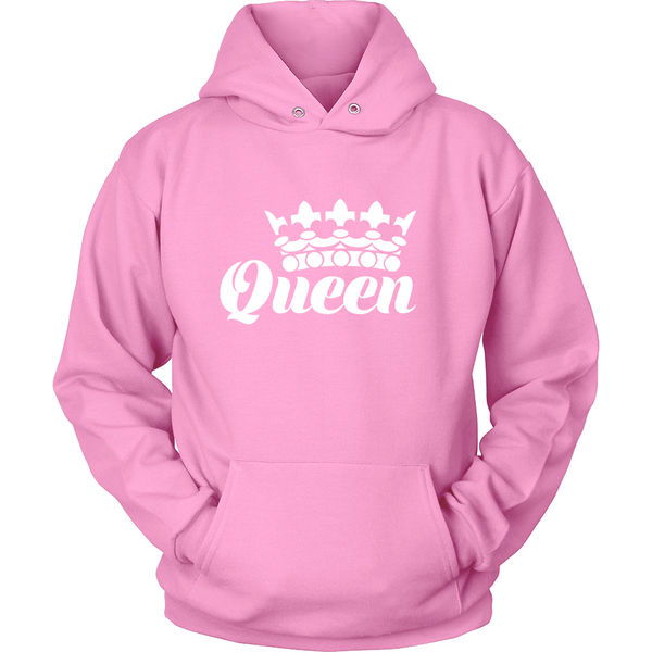 Women's Tees & Hoddies - YOUR QUEEN  HODDIE