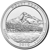 "2010 P&D ""Mt. Hood"" National Park Quarter Uncirculated Set - Oregon"