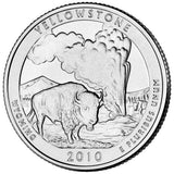"2010 P&D ""Yellowstone"" National Park Quarter Uncirculated Set - Wyoming"