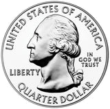 "2011 P&D ""Olympic"" National Park Quarter Uncirculated Set - Washington"