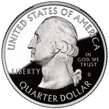 "2012 S Proof ""Chacu Culture"" National Historical Park Quarter - New Mexico"