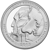 "2013 S Proof ""Mount Rushmore"" National Memorial Quarter - South Dakota"