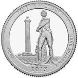 "2013 SILVER Proof ""Perry's Victory and International Peace"" Memorial Quarter - Ohio"