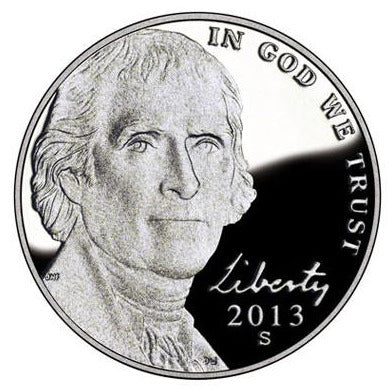 2013 S Jefferson Nickel - Proof