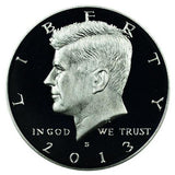 2013 S Kennedy Half Dollar - Silver Proof