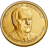 2014 P&D Franklin D. Roosevelt Presidential $1 Uncirculated Set