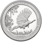 "2015 S Proof ""Kisatchie"" National Forest Quarter - Louisiana"