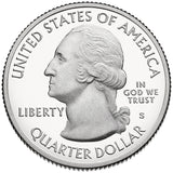 "2015 S Proof ""Bombay Hook"" National Wildlife Refuge Quarter - Delaware"