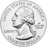 "2015 P,D,S ""Saratoga"" National Historical Park Quarter Uncirculated Set - New York"