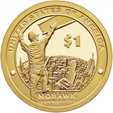 "2015 S Proof Native American ""Iron"" Golden Dollar $1"