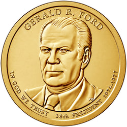 2016 P&D Gerald R. Ford Presidential $1 Uncirculated Set