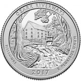 "2017 S Proof ""Ozark"" National Riverways Quarter - Missouri"