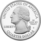 "2017 Enhanced Uncirculated ""Effigy Mounds"" National Monument Quarter - Iowa"
