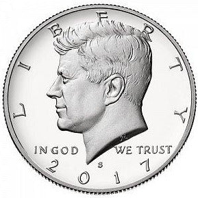 2017 S Kennedy Half Dollar - Silver Proof