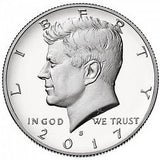 2017 S Kennedy Half Dollar - Enhanced Uncirculated