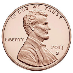 2017 S Lincoln Shield Cent - Proof