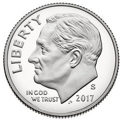 2017 S Roosevelt Dime - Clad Proof