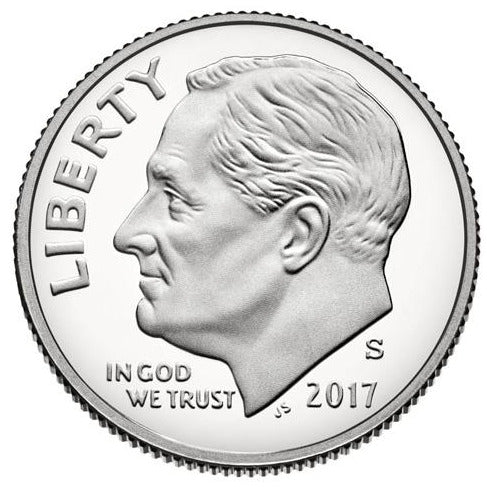 2017 S Dime Roosevelt - Enhanced Uncirculated