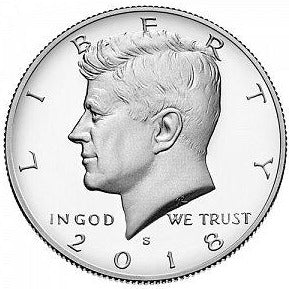 2018 S Kennedy Half Dollar - Clad Proof