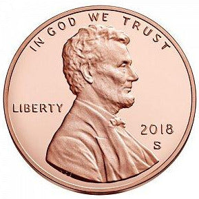 2018 S Lincoln Shield Cent - Proof