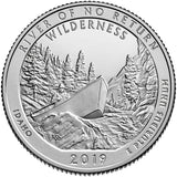 "2019 SILVER Proof ""River of No Return"" Wilderness Quarter - Idaho"