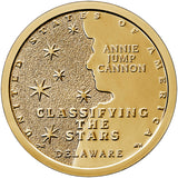 "2019 P&D American Innovation ""Classifying The Stars"" $1 Uncirculated Set - Delaware"