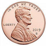 2019 S Lincoln Shield Cent - Proof