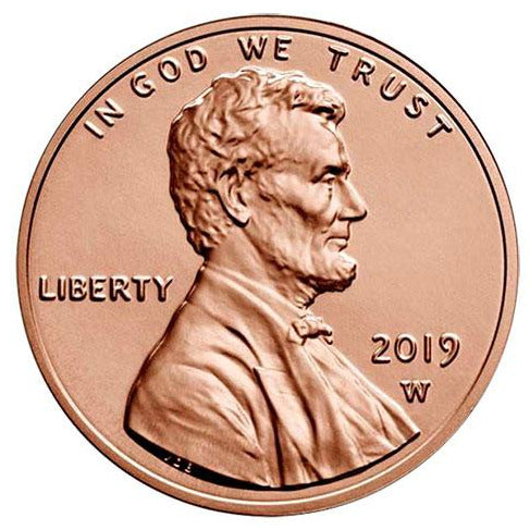 2019 W Lincoln Shield Cent - Reverse Proof