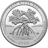 "2020 SILVER Proof ""Salt River Bay"" National Historic Park Quarter - U.S. Virgin Islands"