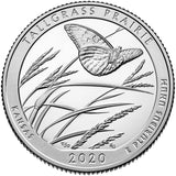 "2020 S Proof ""Tallgrass Prairie"" National Preserve Quarter - Kansas"