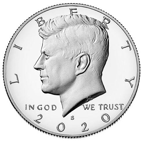 2020 S Kennedy Half Dollar - Clad Proof
