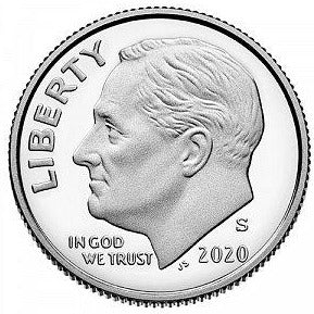 2020 S Roosevelt Dime - Clad Proof
