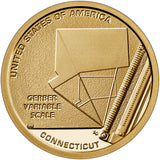 "2020 S Proof ""Gerber Variable Scale"" American Innovation $1 - Connecticut"