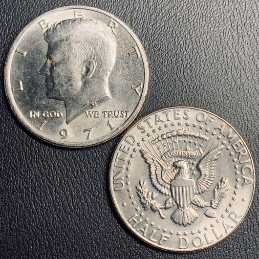 1971 P&D Kennedy Half Dollar