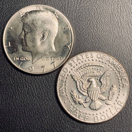 1977 P&D Kennedy Half Dollar