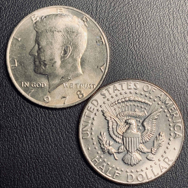 1978 P&D Kennedy Half Dollar