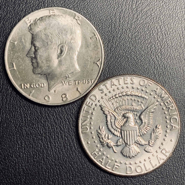 1981 P&D Kennedy Half Dollar