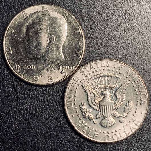 1985 P&D Kennedy Half Dollar