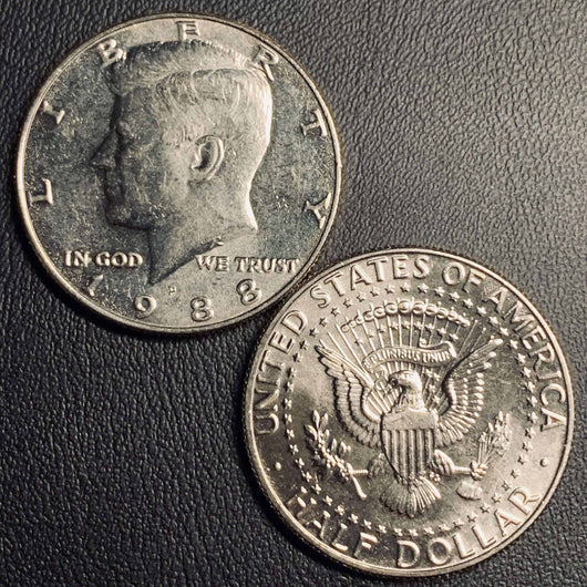 1988 P&D Kennedy Half Dollar