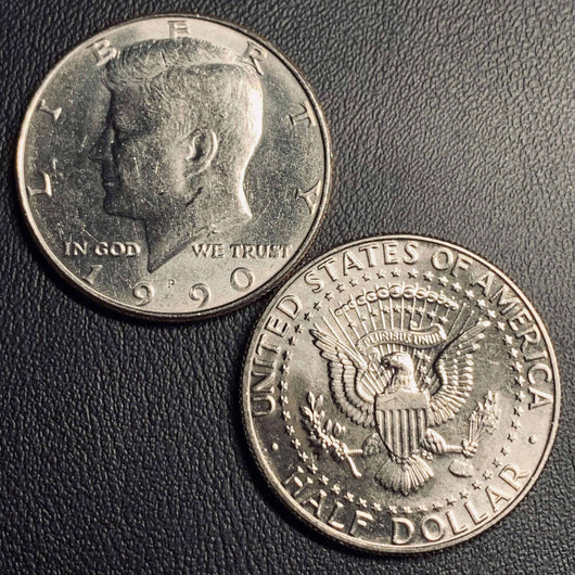 1990 P&D Kennedy Half Dollar