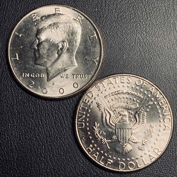 2000 P&D Kennedy Half Dollar