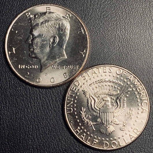 2008 P&D Kennedy Half Dollar