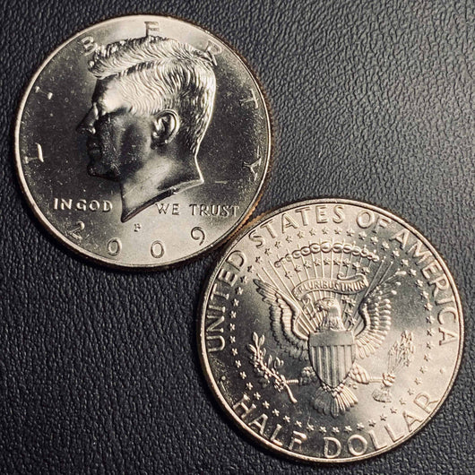 2009 P&D Kennedy Half Dollar