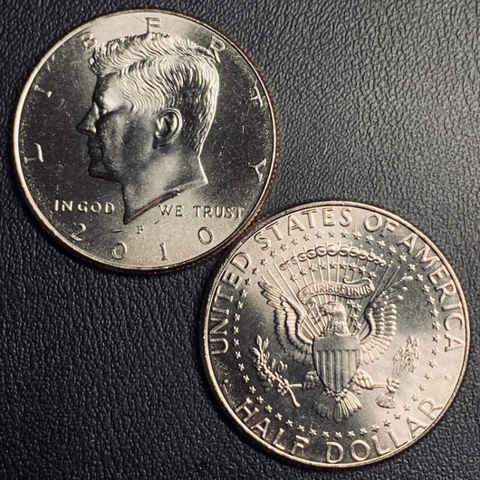 2010 P&D Kennedy Half Dollar