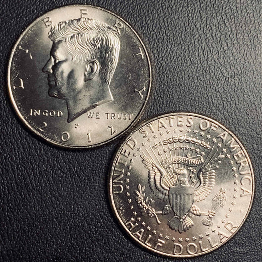 2012 P&D Kennedy Half Dollar
